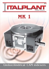 <h5>MK1 - Globocylindrical cam indexers</h5>