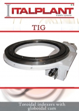 <h5>TIG - Toroidal indexers with globoidal cam</h5>