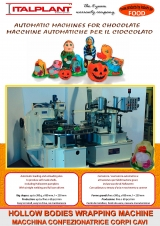 <h5>FOOD - Hollow bodies wrapping machines</h5>